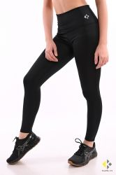 Women's Training Tights with high waist KHEALTH BLACK