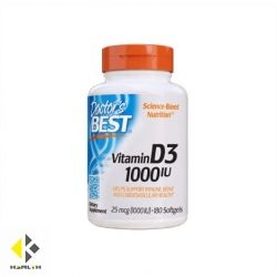DOCTOR'S BEST Vitamin D3 1000IU / 180 Soft.
