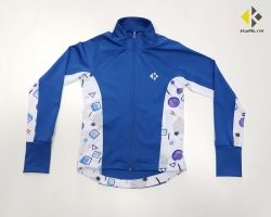 Kids' Full-Zip Jacket КHEALTH BLUE SKY