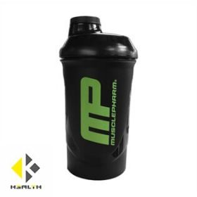 Шейкър за протеин MusclePharm - Black